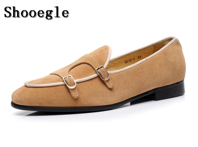 SHOOEGLE Vintage Style Men Casual Shoes