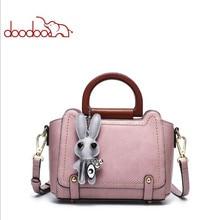 DOODOO 2018 spring and summer new Korean fashion handbag leisure shoulder Messenger bag d1005
