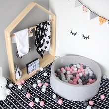 Baby Dry Ball Pool Ocean Ball Piscine A Balle Toys For Baby Playgournd Ball Pit Playpen Kids Birthday Gift  Baby Play Yard