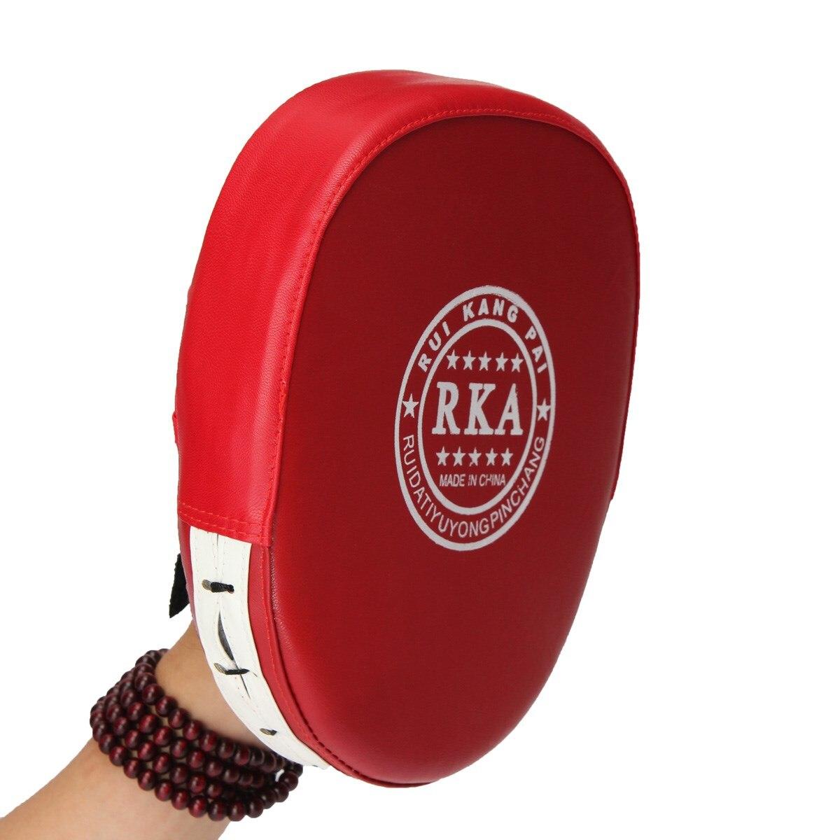 2 stücke Fitness Schlag Boxen Ausbildung Taschen Pad Fokussierung Ziel Pad Handschuh MMA Karate Muay Thai Kick Sanda Pads Sport handschuhe