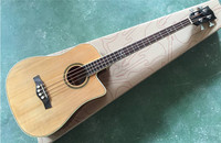 Good Quality 4 String Acoustic Bass Guitar With EQ
