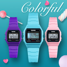 купить SKMEI Fashion Kids Watches Sports Watch Waterproof Boy Girl Wristwatch Alarm Clock Digital Watches Relogio Children Watch 1460 по цене 780.92 рублей