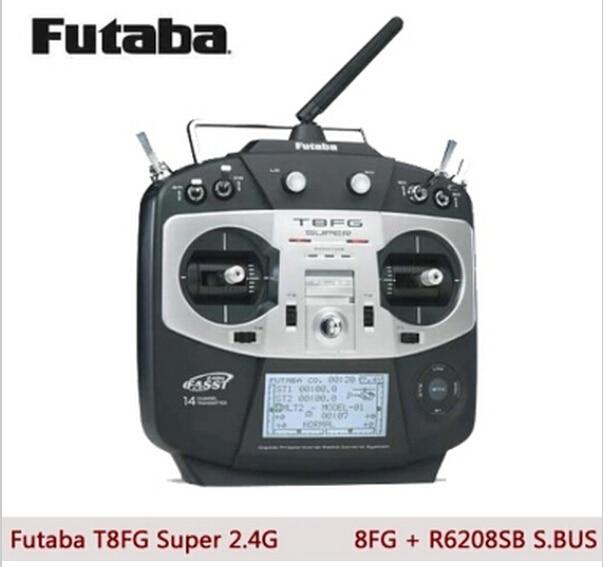 In stock! Futaba T8FG Super Transmitter Heli version +R6208SB Receiver