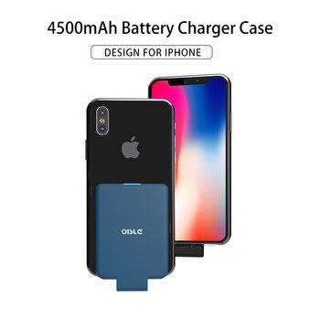 OISLE Powercore 4500mah 、外部バッテリー高速充電技術、電源銀行 iphone X XS 最大 XR 、アプリ、 ipod