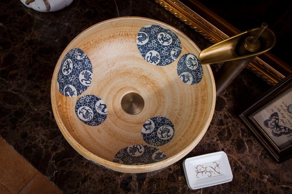 chinese Jingdezhen Art Counter Top ceramic traditional basin bowls (3)