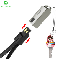 FLOVEME Multifunction Cable For iPhone Cable Cord For Charging Key Chain Accessory For iPhone 6 6s 7 Plus 5 5s SE Cable Charger