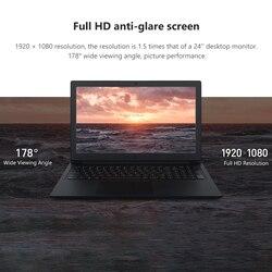 2019 Xiaomi 15.6 cal laptopy 4G/8G RAM DDR4 128G/256G SATA SSD Intel I3 /I5 Quad Core Notebook komputer klawiatura Touchpad PC 6