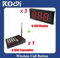 Система вызова в очереди клиник  система вызова пациентов для больниц  передатчик с дисплеем для K-403 из 3 предметов