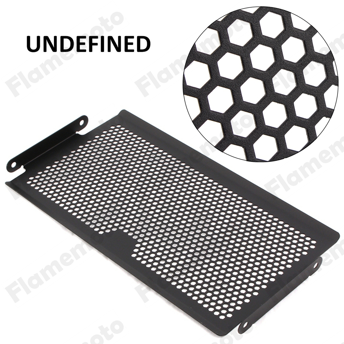 Motorcycle Accessories Black Radiator Grille Guard Cover Protector For Yamaha MT-07 FZ-07 2013 2014 2015 2016 UNDEFINED motorcycle radiator protective cover grill guard grille protector for kawasaki z1000sx ninja 1000 2011 2012 2013 2014 2015 2016