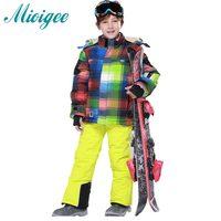 Kids Boys Winter Clothes 2016 Luxury Brand 3 13 Age Down Thick Warm FleeceWinterJacket Fur Hooded