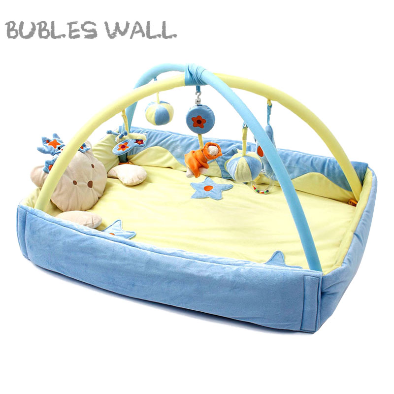 Bubles Wall Bear Soft Baby Play Mat Toy Outdoor Indoor Portable Kids Cute Play Blanket Activity