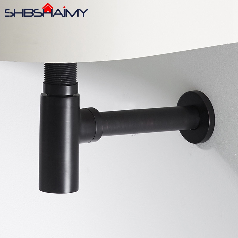 Bathroom Vanity Basin Pipe Waste With Pop Up Drain