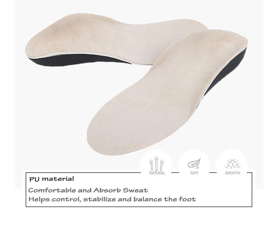Children\`s flat foot orthopedic insole XB1 (1)