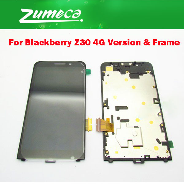 With Tape 5.0For Blackberry Z30 4G Version LCD Display Screen +Touch Screen Digitizer With Frame Assembly White Black ColorWith Tape 5.0For Blackberry Z30 4G Version LCD Display Screen +Touch Screen Digitizer With Frame Assembly White Black Color