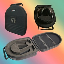 V-MOTA TDG Headphone Carry case boxs For DENON AH-D7100 AH-D600 AH-D320RDEM AH-D400 AH-D320BUEM headphone(headset suitcase)