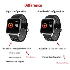 Image 3 - HORUG Bracelet de Fitness bande intelligente traqueur dactivité intelligent Bluetooth Bracelet intelligent montre étanche moniteur de santé électronique