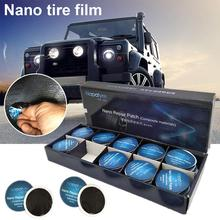 20Pcs 50Pcs Fast Self-adhesive Cold Film Car Drying Inner Tube Vacuum Tire Repair Tool Without Glue Patch New Arrival 2019 tianjin taisite dz 1all 2all vacuum drying vacuum drying box vacuum oven drying machine