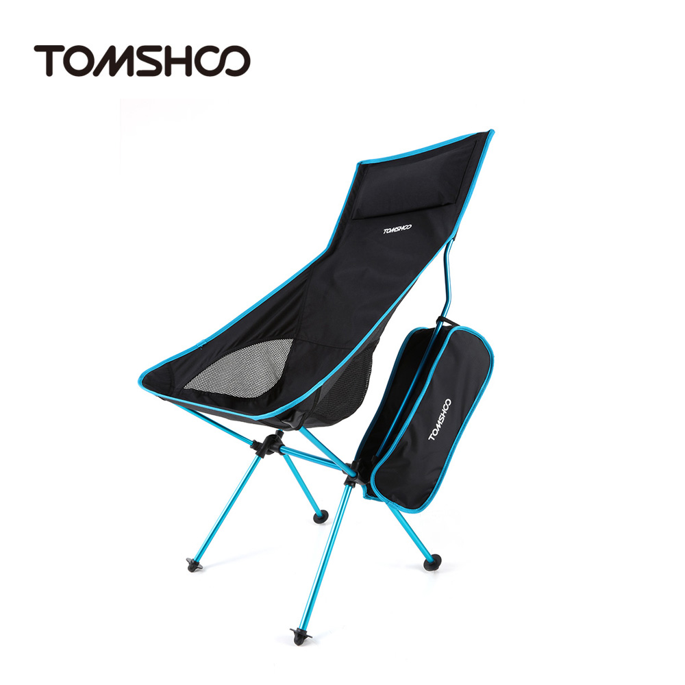 Lightweight camping chairs - Tomshoo Folding Fishing Chair Ultra Lightweight Outdoor Picnic Camping Chair Lounger Chair Portable China