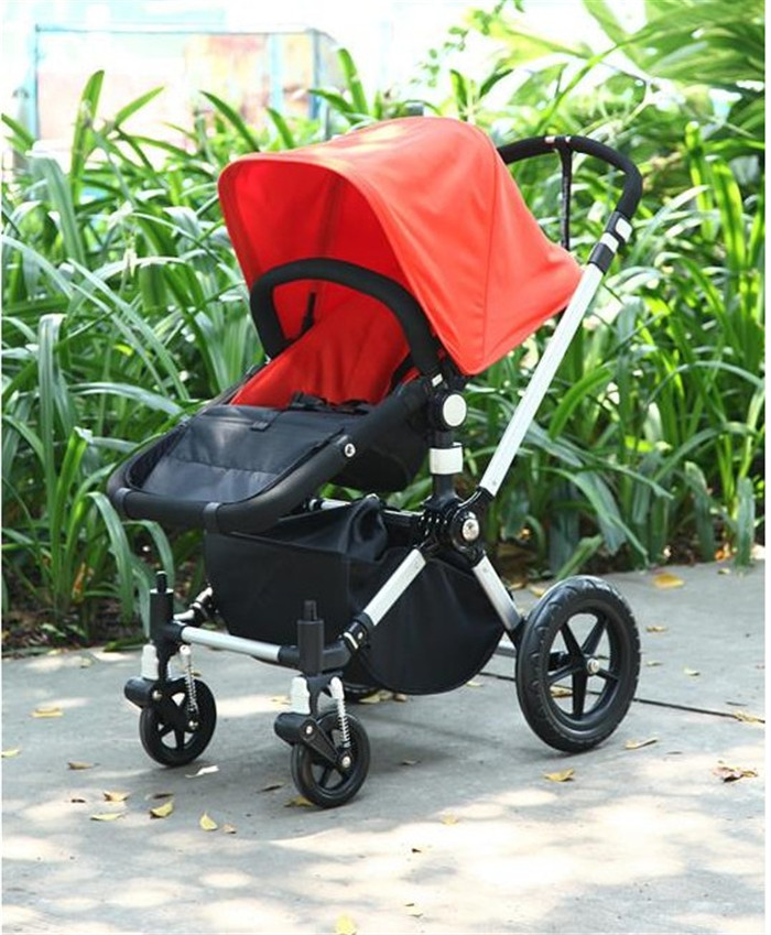 Top Free shipping Deluxe Bugaboo Cameleon Baby Stroller 3 in 1 with  NV58