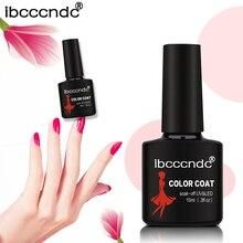 Ibcccndc 10ML UV LED Soak-off Gel Nail Polish Nail Art Nail Gel Polish Semi Permanent Gel Varnishes Gel Lak 80 Colors 31-60
