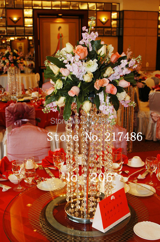 Lowest Price Amazing High Quality Crystal Centerpieces For Wedding Decoration In Underwear