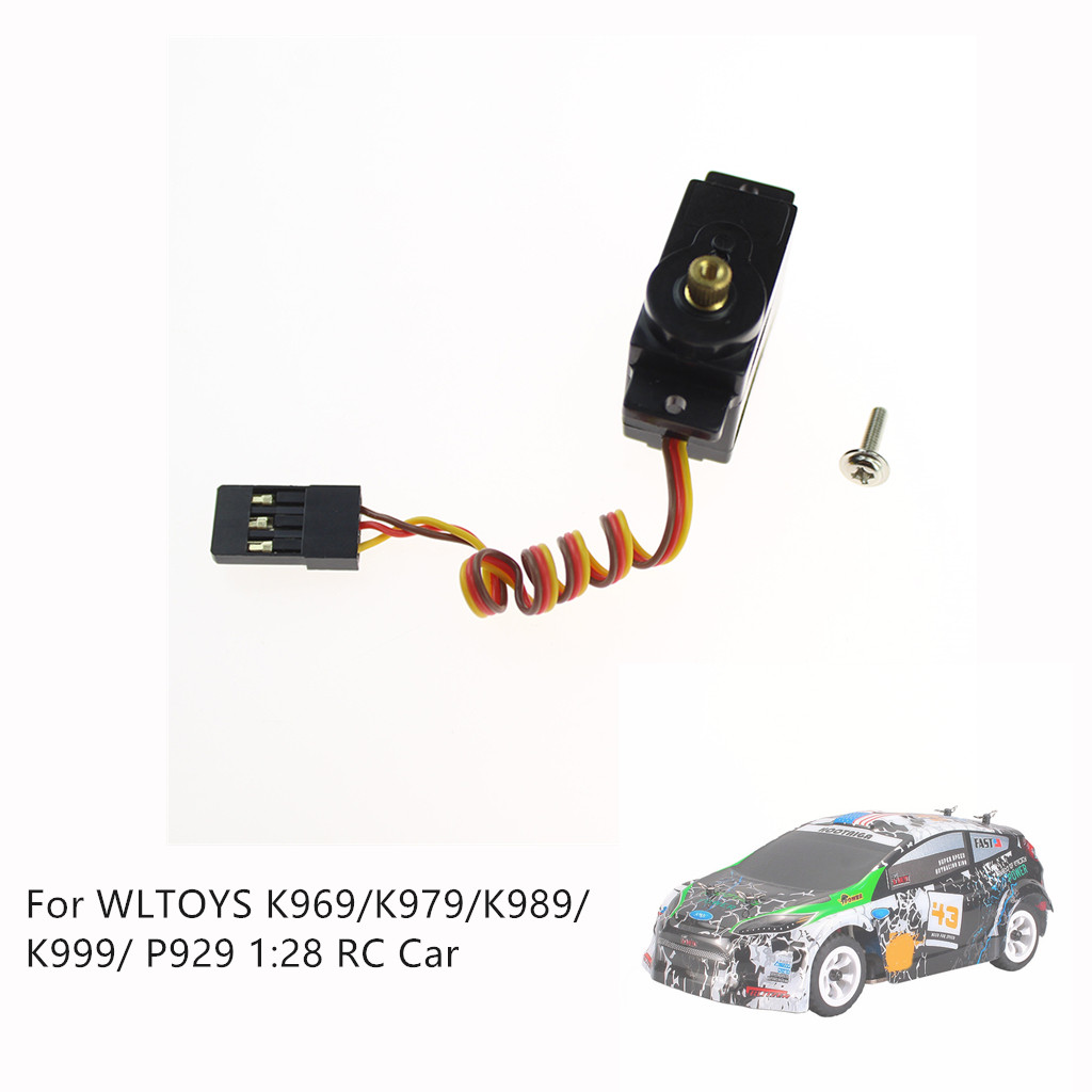 Charging Upgrade Metal Steering Gear Servo For WLTOYS K969/K979/K989/K999/ P929 1:28 Car convenient and practical accessories-in Parts & Accessories from Toys & Hobbies