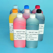 8color 1000ml DX6 eco solvent printing ink refill kit for Epson Stylus PRO GS6000 printer