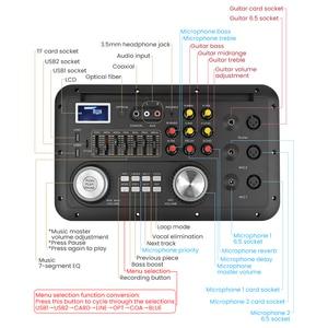 Image 3 - Equalizador bluetooth mp3 aiyima dsp, para karaoke, sem perdas, fibra coaxial, para amplificador de áudio, home theater