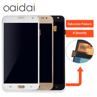 Super AMOLED LCD Display For Samsung Galaxy J3P J3110 J3 Pro J3119 With Tempered Glass 100