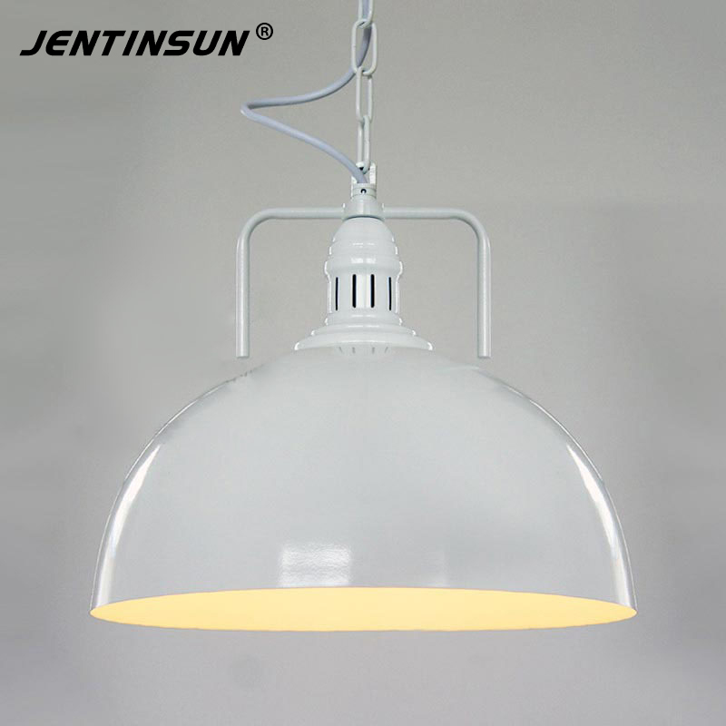 American Retro Industry Pendant Light for Cafe Restaurant Bar Terrace Loft Creative Individual LED Iron Black White Hanging Lamp rh american rural industries retro restaurant terrace bar crystal droplight glass box for cafe bar coffee shop hall store club