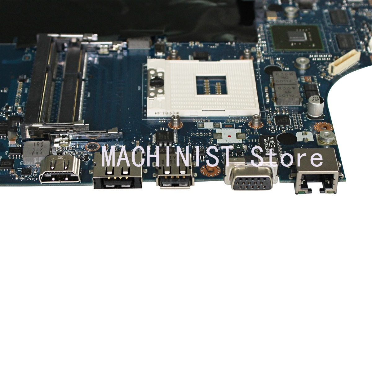 LA-5752P G560 Motherboard For Lenovo G560 Z560 Laptop Motherboard NIWE2 LA-5752P Rev:1.0  with GT310M Video Card DDR3 1