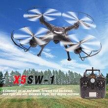 X5sw-1 wi-fi rc drone мультикоптер с fpv камеры безголовый реального времени вертолет quad вертолет toys wifi передача изображения
