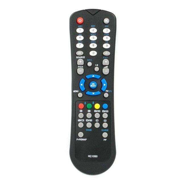 US $8 29 8% OFF|New RC1050 TV Remote Control fit for Hitachi Vestel Alba  Grundig Sanyo Logik Bush Acoustic Solutions Techwood TVs-in Remote Controls