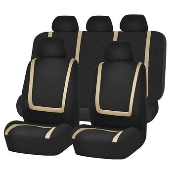 Full set of car seat covers rear front seat cover protectors Most car seat covers car interior fittings universal auto car seat cover auto front rear chair covers seat cushion protector car interior accessories 3 colors