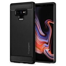 Прочный защитный матовый черный чехол SPIGEN для samsung Galaxy Note 9