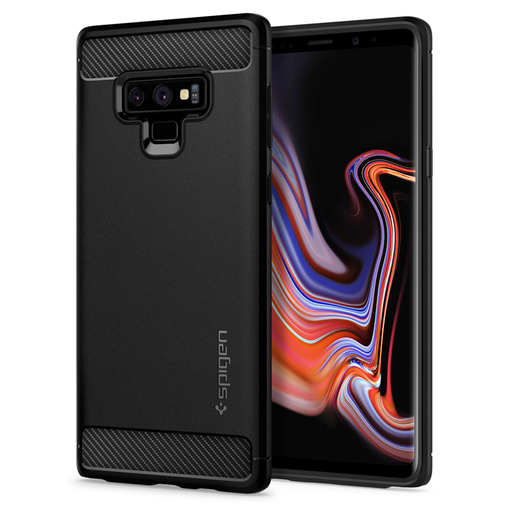 100% Original SPIGEN Rugged Armor Matte Black Case for Samsung Galaxy Note 9100% Original SPIGEN Rugged Armor Matte Black Case for Samsung Galaxy Note 9
