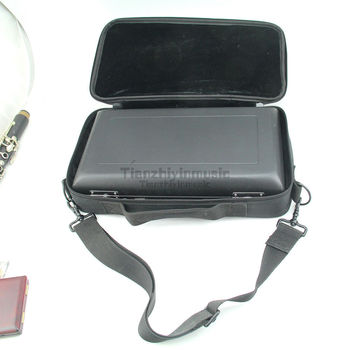 1pcs New Oboe Case Black Color Hard Case Light Strong Soft Bag Nice Condition! It's a set  perfect