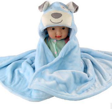 2017 новый 3D Мультфильм ватки младенческой коляска обернуть плащ детское одеяло конверт для новорожденных детское постельное белье одеяло 76*92