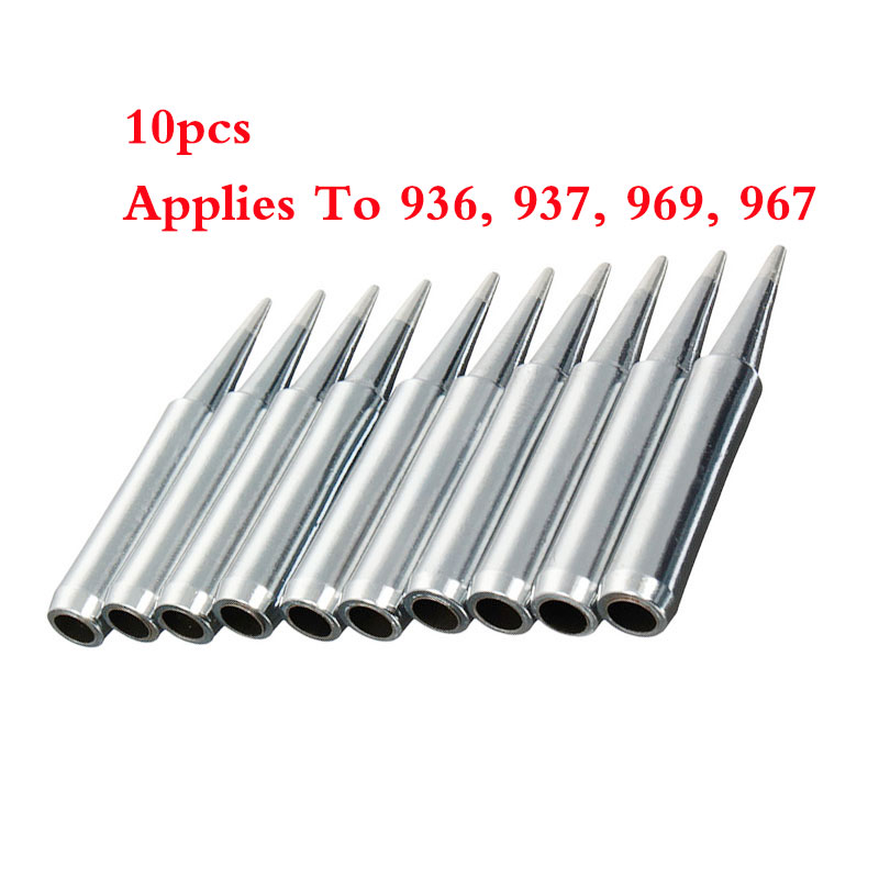 60pcs Soldering Tips Iron TIP 900M-T for 936//937//928 Soldering Station tools