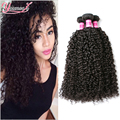 Peruvian Kinky Curly Virgin Hair 4 Bundles Afro Kinky Curly Hair Peruvian Virgin Hair Human Hair Extension Kinky Curly Weave