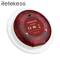 Restaurant Call Coaster Pager Charger Base For Wireless Calling Paging System F3356A