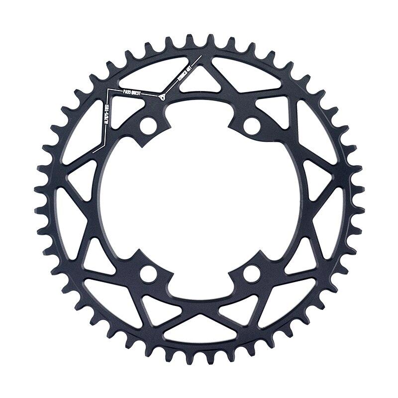 PASS QUEST R110/4 BCD 110BCD vélo de route rond 40 T-52 T roue à chaîne étroite large pour R7000 R8000 DA9100