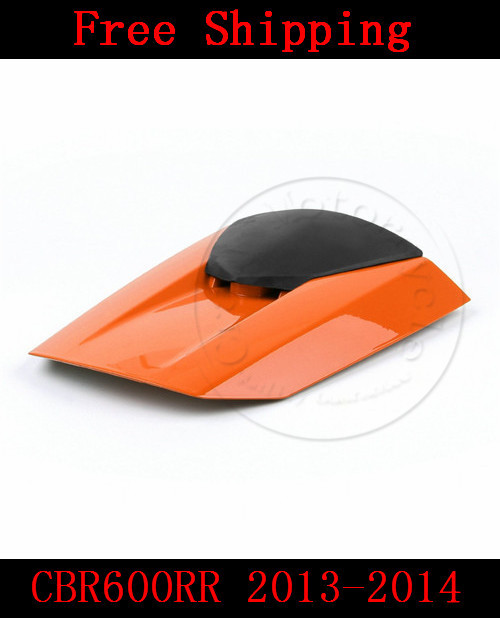 For Honda CBR600RR 2013-2014 motorbike seat cover CBR 600 RR Motorcycle Orange fairing rear sear cowl cover for honda cbr600rr 2007 2008 2009 2010 2011 2012 motorbike seat cover cbr 600 rr motorcycle red fairing rear sear cowl cover