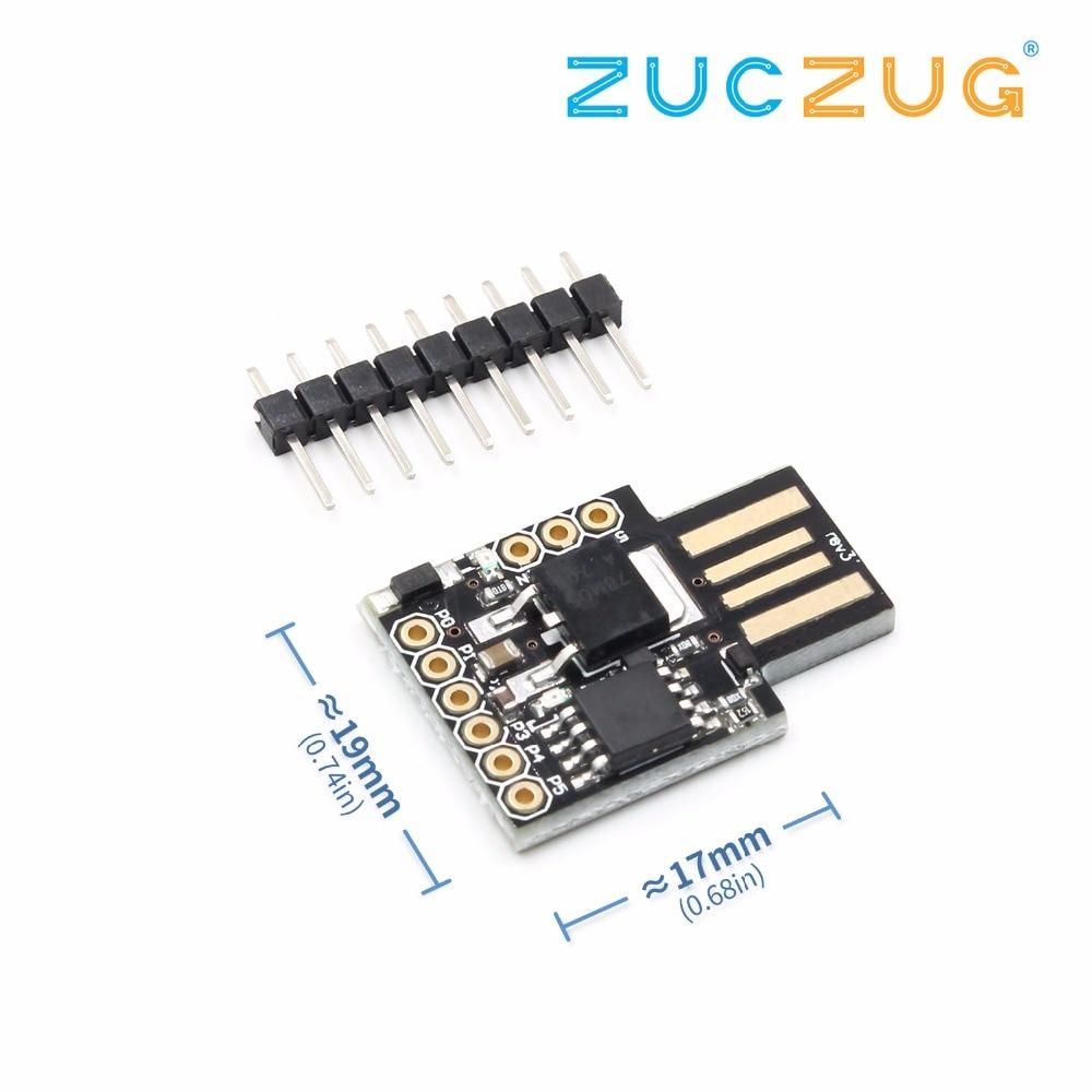 1pcs Digispark kickstarter development board ATTINY85 module usb-in Integrated Circuits from Electronic Components & Supplies