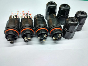 Image 2 - 2 قطع 3 دبوس موصل للماء ، t نوع الكابل الموصل ، ip67 ، الصناعي كابل الطاقة سلك موصل ، t موصل للماء