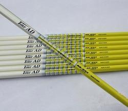Golf Club Ferri Da Stiro golf shaft TOUR AD 65II albero Golf Grafite Regular o Stiff o SR flex 10 pz/lotto Golf club shaft Freeshipping