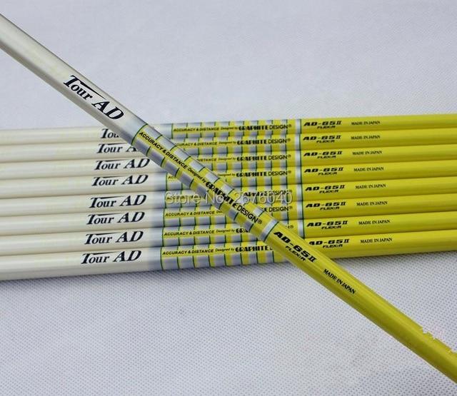 Golf Irons Clubs golf shaft TOUR AD 65II Graphite Golf shaft Regular or Stiff or SR flex 10pcs/lot Golf clubs shaft Freeshipping