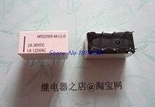 20 pçs/lote Relé HFD2 005 ML2 D HFD2/005 M L2 D Trancando Relé bobina Dupla 5V Em Estoque