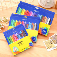 12 Colors Set Students Crayons Non Toxic Children S Painting Graffiti Art Painting Stacker Crayons Kids