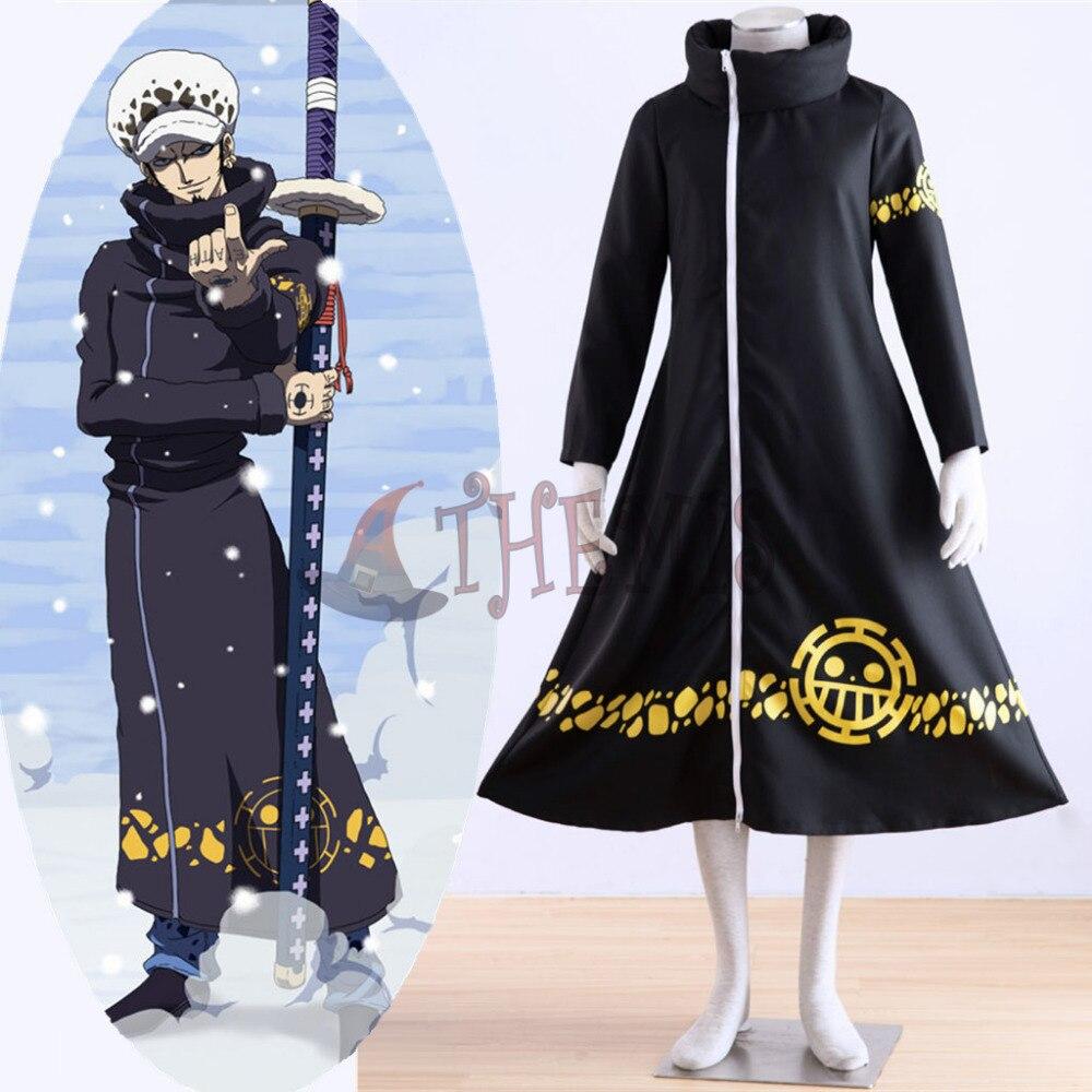 Athemis ONE PIECE Trafalgar Law (Legge Trafalgar D Acqua) lungo cappotto  unisex jackethigh qualità e di qualsiasi dimensione costume cosplay in  Athemis ONE ... ebaaf1162bdf